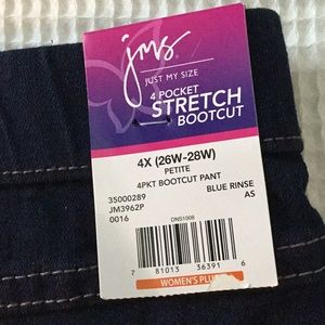 jms  JUST MY SIZE  4X